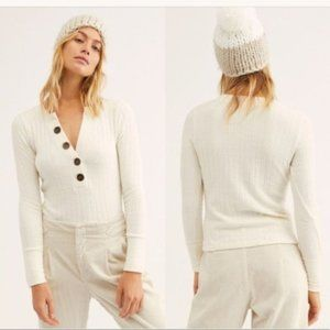 Free People Oliver Henley Top. S, L